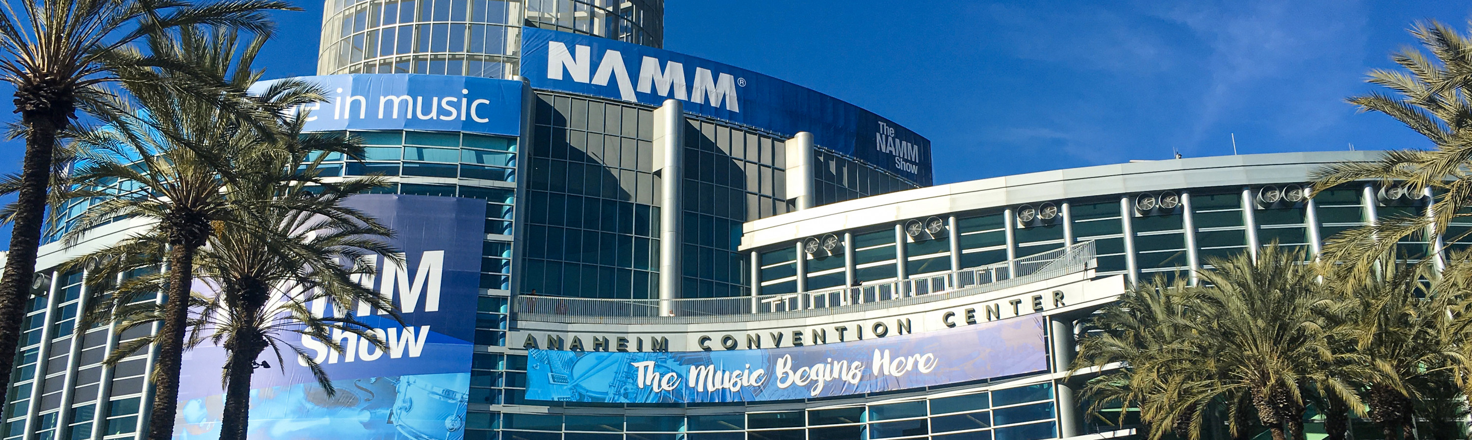 Adam Hall Group au NAMM d'hiver 2020