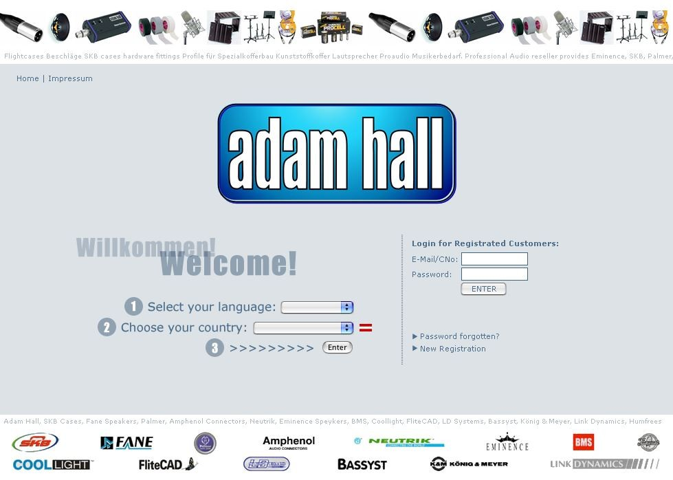 Adam Hall Group 1998