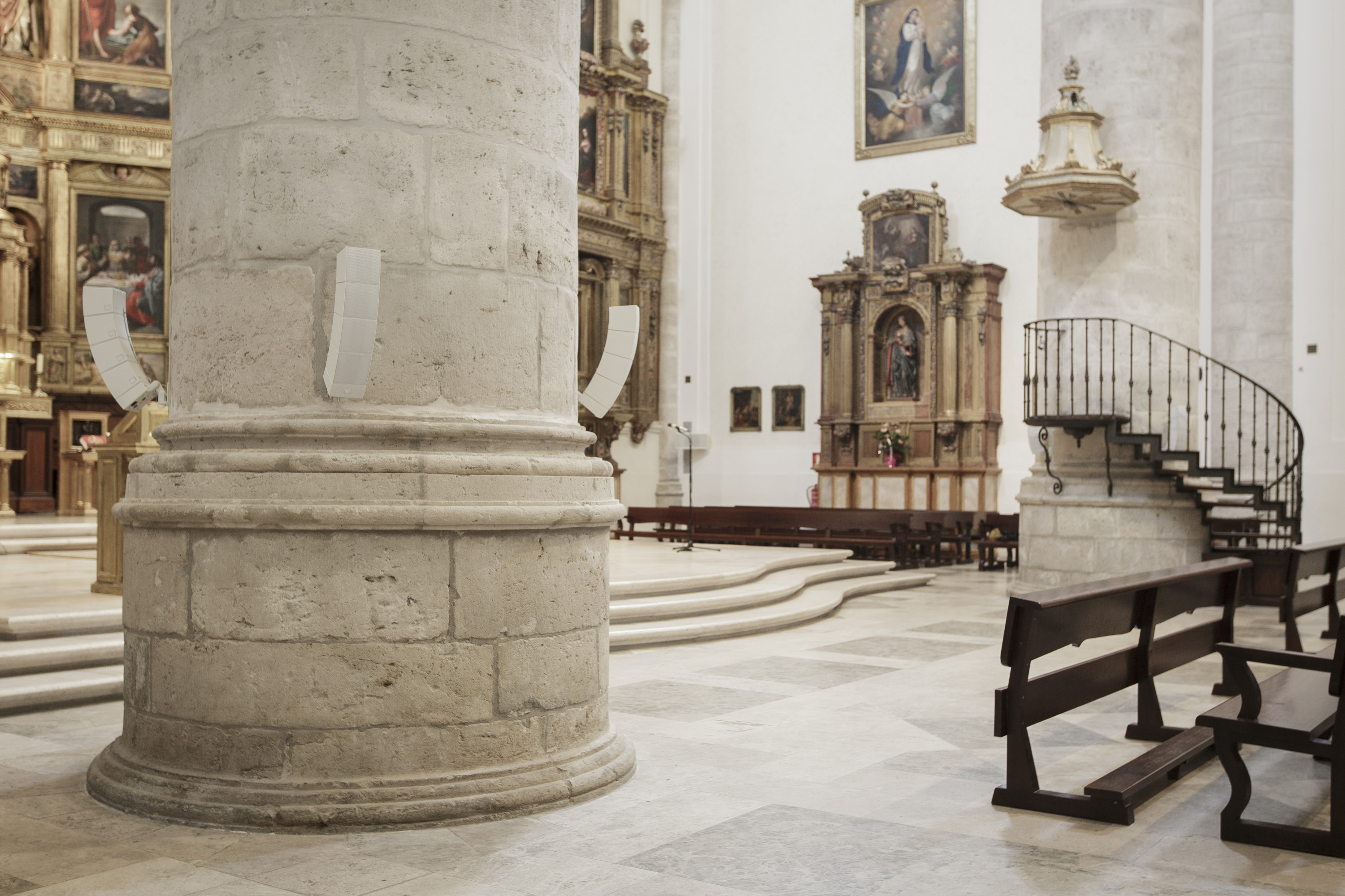 LD Systems CURV 500 systems provide sound for Spanish churches