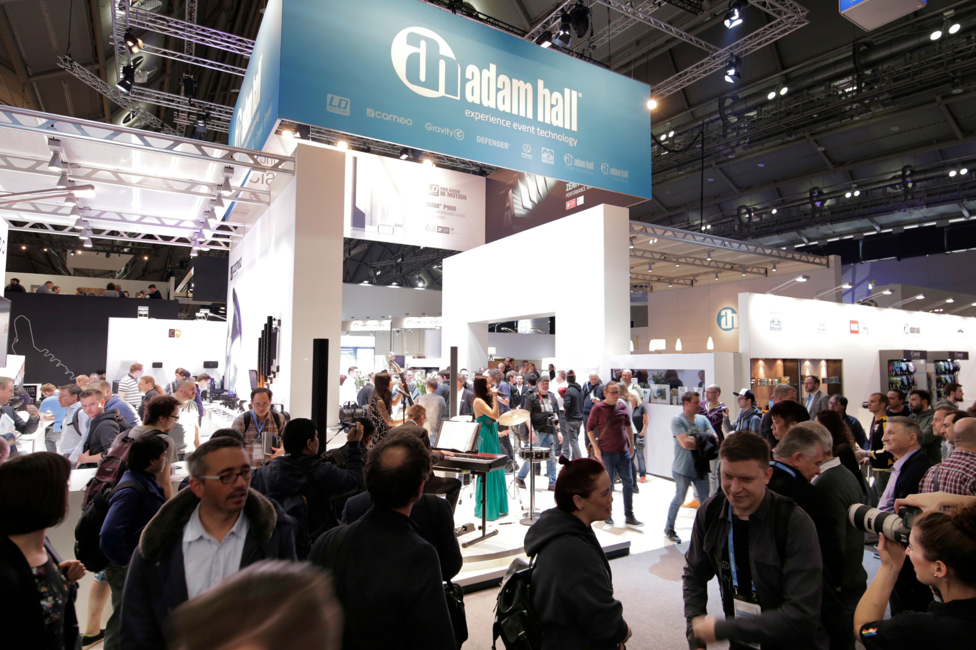 Adam Hall Group Premieres New Products and Visionary Campaigns #PLS2019