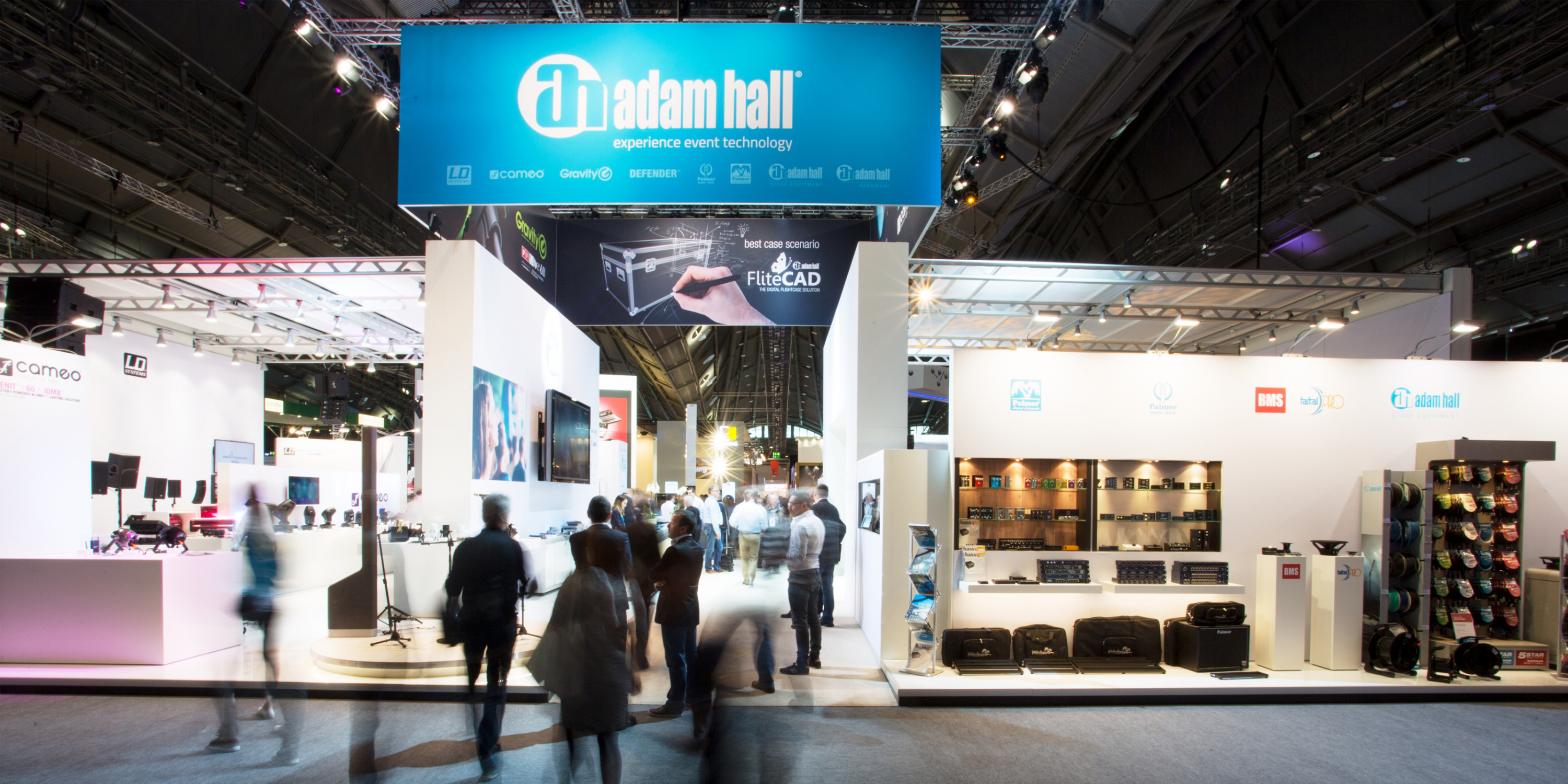 Adam Hall Group et ses nouveautés au salon Prolight + Sound 2018