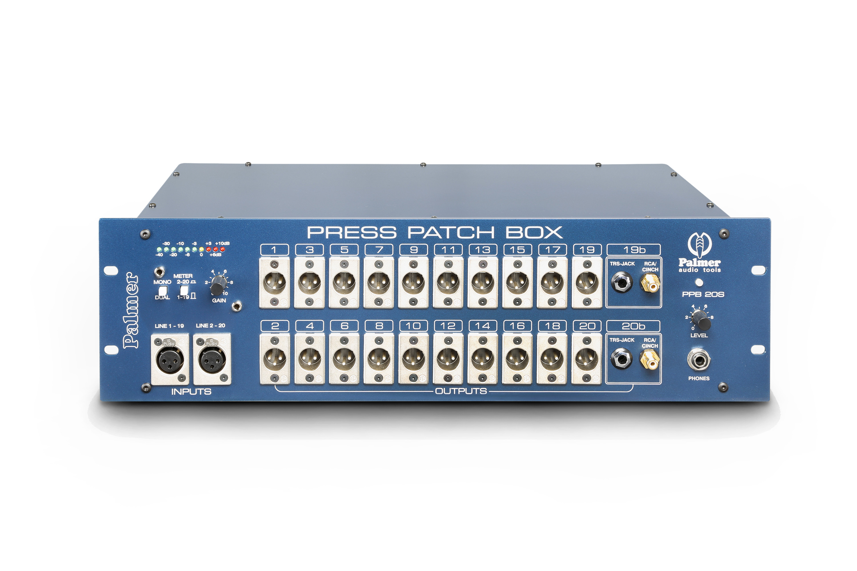 Palmer Pro PRESS PATCH BOX 20 STEREO